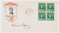 Autographs:Celebrities, Composer Richard Rodgers Signed First Day Cover....