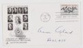 Autographs:Celebrities, Composer Aaron Copland Signed First Day Cover....