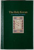 Books:Books about Books, [Fawzi Mikhail Tadros, compiler]. The Holy Koran in the Libraryof Congress. A Bibliography. Washington: Library of ...