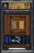 """Baseball Cards:Singles (1970-Now), 2004 Playoff """"Prime Cuts II"""" Lou Gehrig Jersey and Bat Swatch Card#MLB-65 #14/25 BVG 9.5...."""