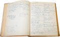 Movie/TV Memorabilia:Memorabilia, A Guest Book Signed by Countless A-List Celebrities, 1950-1966....