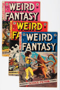 Golden Age (1938-1955):Science Fiction, Weird Fantasy #19-22 Group (EC, 1953).... (Total: 4 Comic Books)
