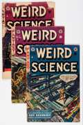 Golden Age (1938-1955):Science Fiction, Weird Science #17-21 Group (EC, 1953) Condition: Average FR....(Total: 5 Comic Books)