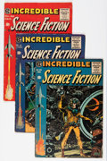 Golden Age (1938-1955):Science Fiction, Incredible Science Fiction #30-33 Group (EC, 1955).... (Total: 4Comic Books)