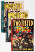 Golden Age (1938-1955):War, Two-Fisted Tales/Frontline Combat Group (EC, 1950s) Condition:Average VG-.... (Total: 8 Comic Books)