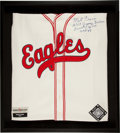 "Baseball Collectibles:Uniforms, Monte Irvin ""AKA Jimmy Nelson"" Signed Newark Eagles Jersey. ..."