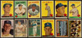 Baseball Cards:Lots, 1957 Through 1959 Topps Dodgers Collection (72). ...