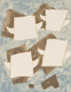 GEORGES BRAQUE (French, 1882-1963) Taureaux ailés, 1960 Color lithograph laid on paper 8-1/2 x 6 inches (21.6 x 1...