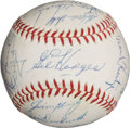 Autographs:Baseballs, 1966 Washington Senators Team Signed Baseball....