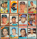 Baseball Cards:Lots, 1960 Through 1967 Topps Dodgers Collection With Many Stars (226)....