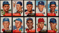 Baseball Cards:Lots, 1953 Topps Baseball Collection (45 different) With 4 High Numbers....