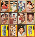 Baseball Cards:Sets, 1962 Topps Mid To High Grade Partial Set (443) Including Over 60 High Numbers. ...