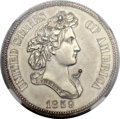 Patterns, 1859 P50C Half Dollar, Judd-237, Pollock-293, R.4, PR62 NGC....
