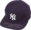 "Baseball Collectibles:Hats, Mickey Mantle ""H.O.F. 1974"" New York Yankees Cap...."