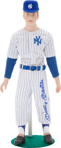 Baseball Collectibles:Others, Mickey Mantle Signed Doll....
