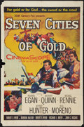 "Movie Posters:Adventure, Seven Cities of Gold (20th Century Fox, 1955). One Sheet (27"" X41""). Adventure.. ..."