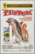 "Movie Posters:Adventure, Flipper (MGM, R-1970). One Sheet (27"" X 41""). Adventure.. ..."