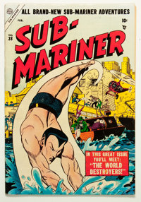 Sub-Mariner Comics #38 (Timely, 1955) Condition: FN+