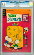 Bronze Age (1970-1979):Cartoon Character, Walt Disney's Comics and Stories #360 Savannah pedigree (Gold Key,1970) CGC NM+ 9.6 Off-white to white pages....