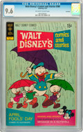 Bronze Age (1970-1979):Cartoon Character, Walt Disney's Comics and Stories #380 Savannah pedigree (Gold Key,1972) CGC NM+ 9.6 Off-white to white pages....