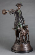 Bronze:European, A PATINATED BRONZE FIGURAL GROUP AFTER CHRISTOPHE FRATIN (FRENCH, 1801-1864) . Late 19th century . Marks: FRATIN. 29-1/2...