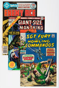 Bronze Age (1970-1979):Miscellaneous, DC/Marvel Bronze Age Comics Group - Savannah pedigree (DC/Marvel,1969-77) Condition: Average NM-.... (Total: 9 Comic Books)