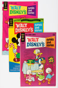 Bronze Age (1970-1979):Cartoon Character, Walt Disney's Comics and Stories Group - Savannah pedigree (GoldKey, 1968-76) Condition: Average NM-.... (Total: 6 Comic Books)