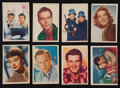 "Non-Sport Cards:Sets, 1950's Parkhurst ""Movie and TV Actors"" Near Set (44/45). ..."