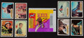 "Non-Sport Cards:Sets, 1967 Topps ""Maya"" High Grade Complete Set (55) Plus Wrapper. ..."