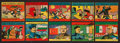 "Non-Sport Cards:Sets, 1939 R54 W.S. Corporation ""The Foreign Legion"" (#'d 325-372) andR58 ""Generals and Their Flags"" (#'d 425-448) Complete Set Pai..."