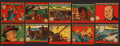 "Non-Sport Cards:Sets, 1942 R18 W.S. Corporation ""Army, Navy, and Air Corps"" (#'d 601-648)Complete Set (48). ..."