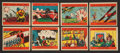 "Non-Sport Cards:Sets, 1939 R126 W.S. Corporation ""The Second World War"" (#'d 125-172)Complete Set (48). ..."