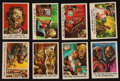 Non-Sport Cards:Sets, 1959 Bubbles, Inc. (Topps) Funny Monsters/You'll Die LaughingComplete Set (66). ...