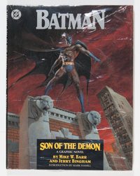 Batman: Son of The Demon #nn Hardcover Group (DC, 1987) Condition: Average NM-.... (Total: 11 Comic Books)