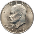 Eisenhower Dollars: , 1978 $1 MS66 PCGS. PCGS Population (326/5). NGC Census: (128/5). Mintage: 25,702,000. Numismedia Wsl. Price for problem fre...