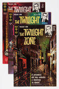 Silver Age (1956-1969):Horror, Twilight Zone #4, 7, and 9 File Copies Group (Gold Key, 1963-64)Condition: Average VF/NM.... (Total: 3 Comic Books)
