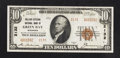 National Bank Notes:Wisconsin, Green Bay, WI - $10 1929 Ty. 2 Kellogg-Citizens NB Ch. # 2132. ...