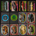 Non-Sport Cards:Sets, 1976 Topps & Donruss Cars Theme Complete Set Pair (2). ...