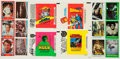Non-Sport Cards:Sets, 1970's-80's Sci-Fi and Fantasy Television Theme Card Sets (4). ...