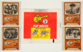Non-Sport Cards:Sets, 1967 Topps Monkees Flip Movies Complete Set (16). ...