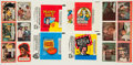 Non-Sport Cards:Sets, 1970's Topps and O-Pee-Chee Television Shows Complete SetsCollection (4)....