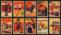 "Non-Sport Cards:Sets, 1935 Schutter-Johnson ""I'm Going To Be"" Complete Set (24). ..."