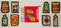 """Non-Sport Cards:Sets, 1979 Topps """"Wacky Packages"""" Series 1 and 2 High Grade Complete Sets(2)...."""