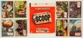 "Non-Sport Cards:Sets, 1954 Topps ""Scoops"" Complete Set (156) Plus Wrapper...."