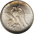 Commemorative Silver: , 1938-D 50C Texas MS68 NGC. Light peach, ice-blue, and olive-greenshades endow this lustrous and immaculate Superb Gem. Unl...