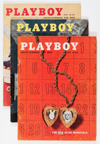 Playboy 1957 Group (HMH Publishing, 1957).... (Total: 12 Items)