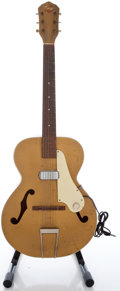 Musical Instruments:Electric Guitars, Circa Late 1950's Kay Gold Archtop Electric Guitar...