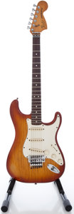 Musical Instruments:Electric Guitars, 1979 Fender Stratocaster Sienna Sunburst Solid Body ElectricGuitar, Serial #S995645....
