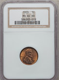 Lincoln Cents: , 1923 1C MS64 Red and Brown NGC. NGC Census: (194/114). PCGSPopulation (86/31). Mintage: 74,723,000. Numismedia Wsl. Price ...