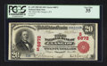 National Bank Notes:Kentucky, Glasgow, KY - $20 1902 Red Seal Fr. 639 The Third NB Ch. # (S)6872....